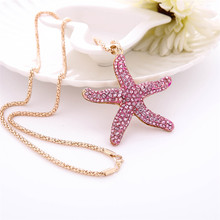 Diomedes lovely Jewelry Women Charm Star Fish Crystal. US  3.14   piece Free  Shipping ab129a339138