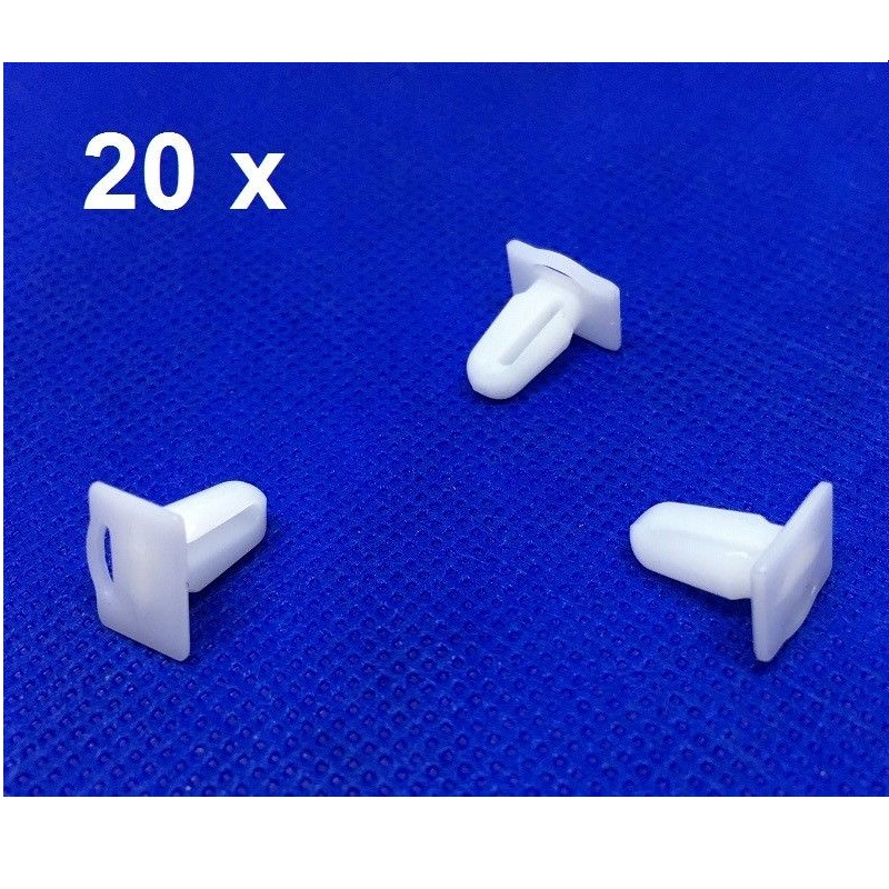 Protective Trim Clip Clamp Fixing Fastener 10x BMW Door Sill Strip Clips