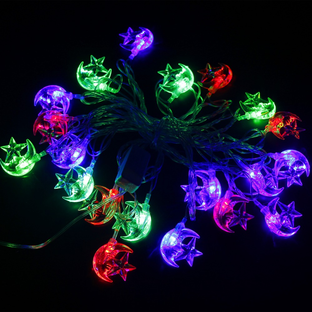 Star Moon String Lights : Moon and Star Led String Lights Promotion-Shop for Promotional Moon and Star Led String Lights ...