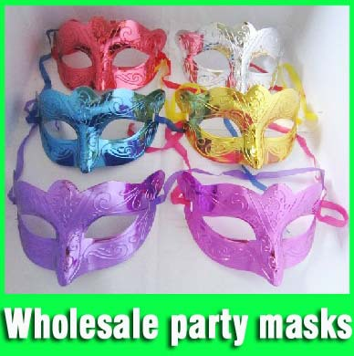 Free shipping Factory direct sales halloween party mask masquerade masks stage property wholesale mask for ball (50 pcs/ lot )