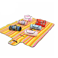 200*150cm Waterproof Foldable Outdoor Camping Mat Picnic Mat Plaid Beach Blanket Baby Climb Blanket Multiplayer Tourist Mat