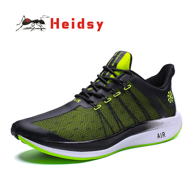 2019 Fashion Damping Sneaker Mens Shoes Breathable Lightweight Outdoor Casual Lace Up Luxury Brand Mens Shoes Zapatos De Hombre