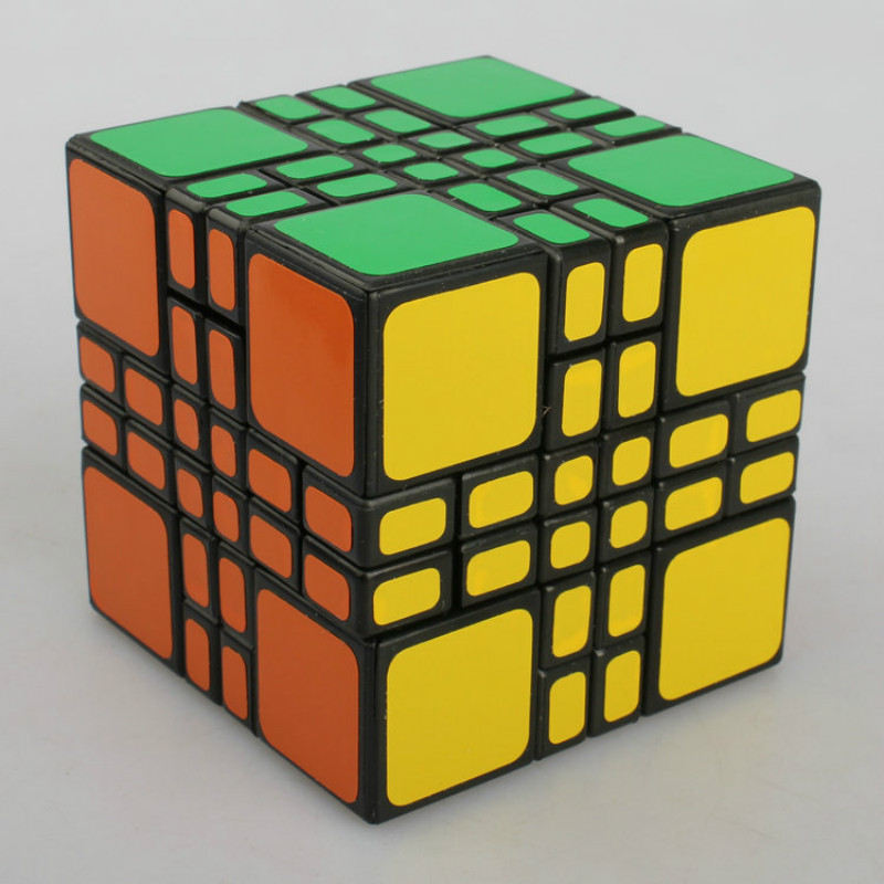WitEden 4x4x4 Mixup Plus Magic Cube Puzzle Toys witeden 4x4x4 mixup professional magic cube puzzle speed cube educational toys