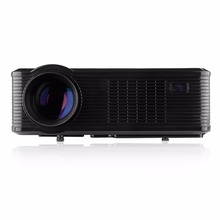Hot sale! Hot sale LED/LCD Projector 2400 Lumens HD Projector for Home Theater Laptop AV/VGA/HDMI/USB/ATV Input ,Support 1080P