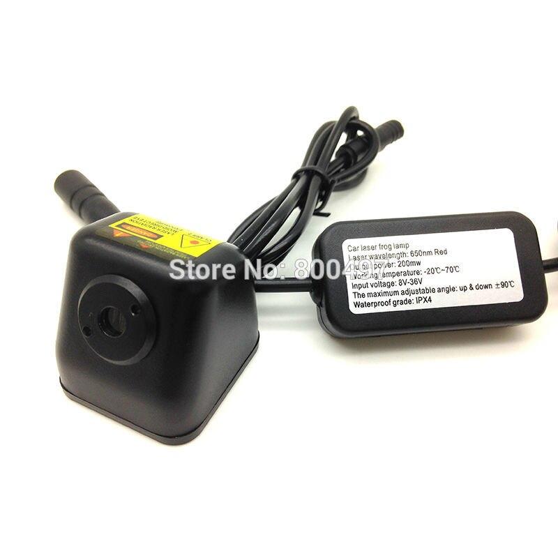 Universal 12 V 24 V Auto Auto Laser Nebelscheinwerfer Hinten Antikollisions Fahrsicherheit Signal Warnung Lampe Bremsen parkplatz Warnlicht