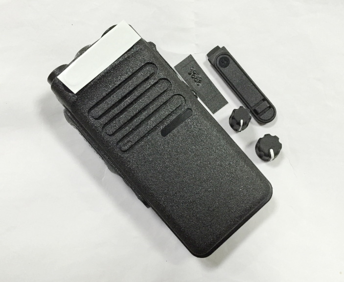 Front Housing Case Cover for MOTOROLA PM400 Portable Radio with Keypad /& Knob