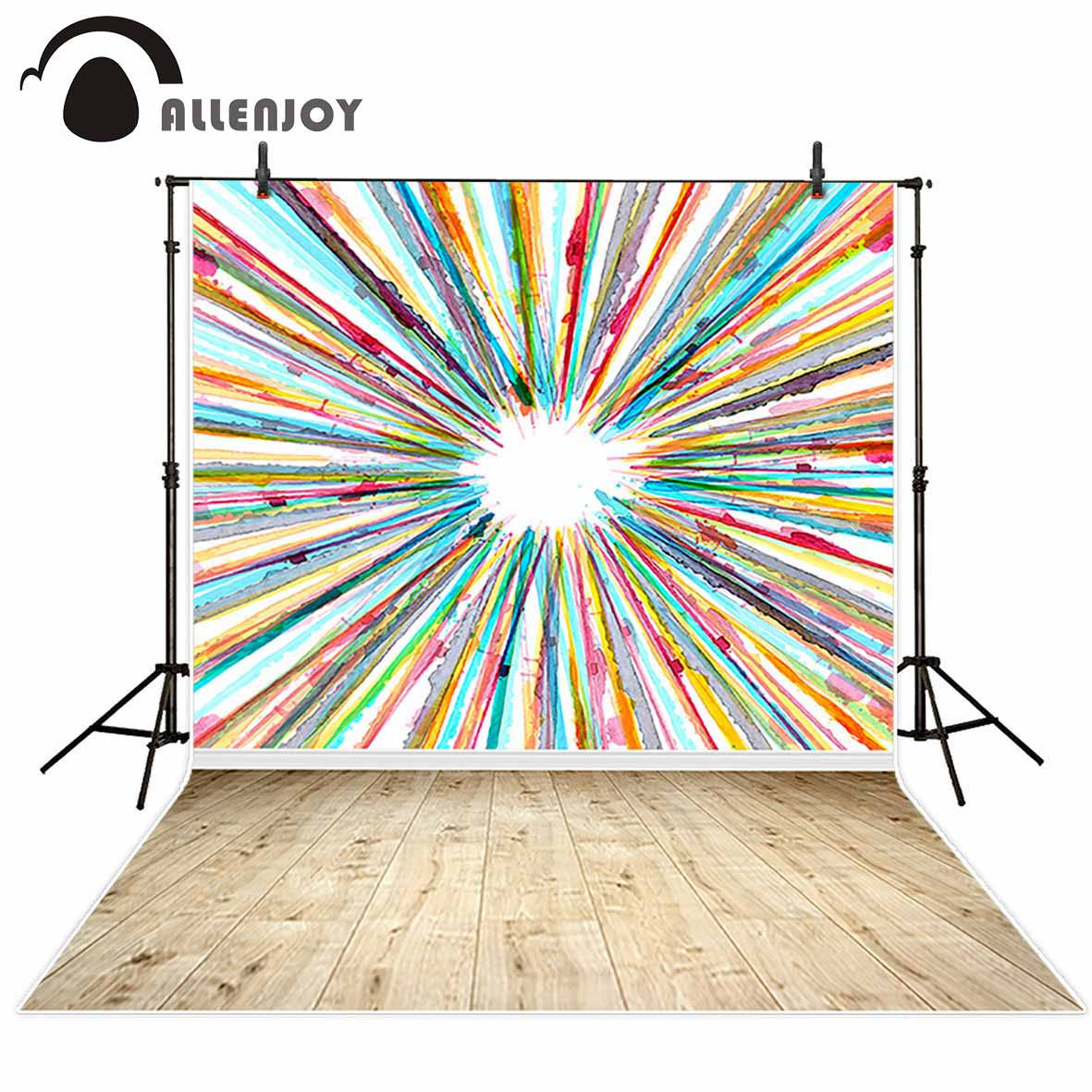 Allenjoy photography backdrop Color oil painting lines hope board innovation new background photocall customize photo printed wire universal board computer board six lines 0040400256 0040400257 used disassemble