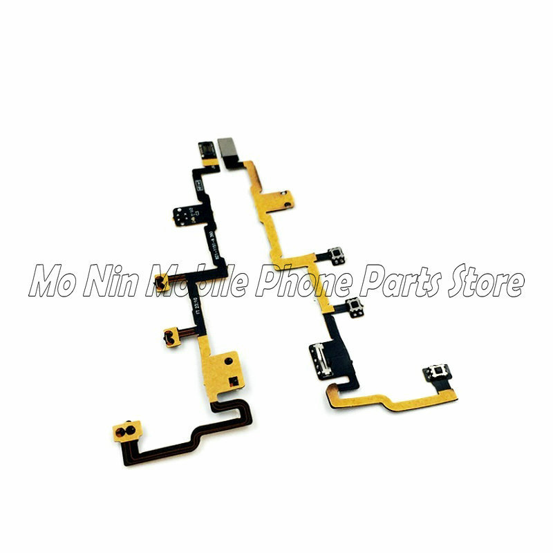 High Quality Power Button On Off Flex Cable For IPad 2 CDMA A1395 A1396 Volume Switch Connector Ribbon Parts