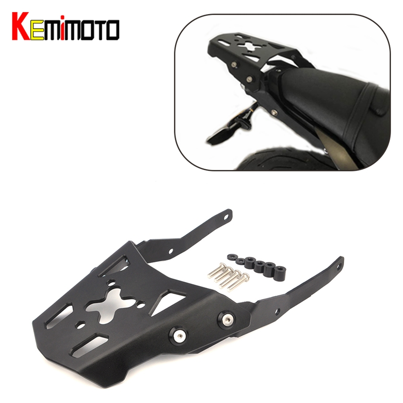 KEMiMOTO For YAMAHA MT-10 MT10 MT 10 2016 2017 Motorcycle Accessories Rear Carrier Luggage Rack partol black car roof rack cross bars roof luggage carrier cargo boxes bike rack 45kg 100lbs for honda pilot 2013 2014 2015