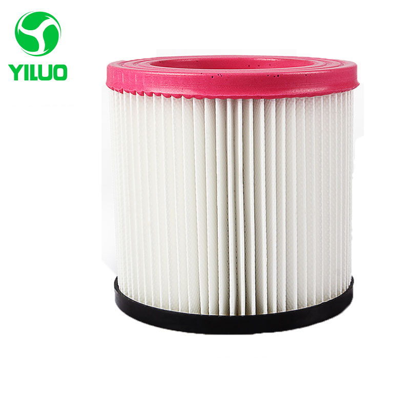 1 PCS plastic and steel wire frame pink hepa filter with high quality for vacuum cleaner parts replacement hepa filter JN-202 jn 17161006jn