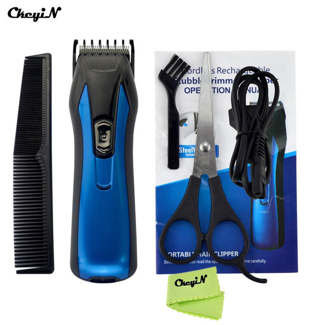 NEW Electric Hair Clipper Rechargeable Hair Trimmer Men's Beard Trimmer Shaving Razor Hair Cutting Machine Cordless Adjustable