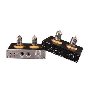 Image 4 - Lusya 6N3 rury wzmacniacz słuchawkowy MAX9722 DAC dekoder dźwięku 1300mW moc dla 16 600ohm słuchawki T0654