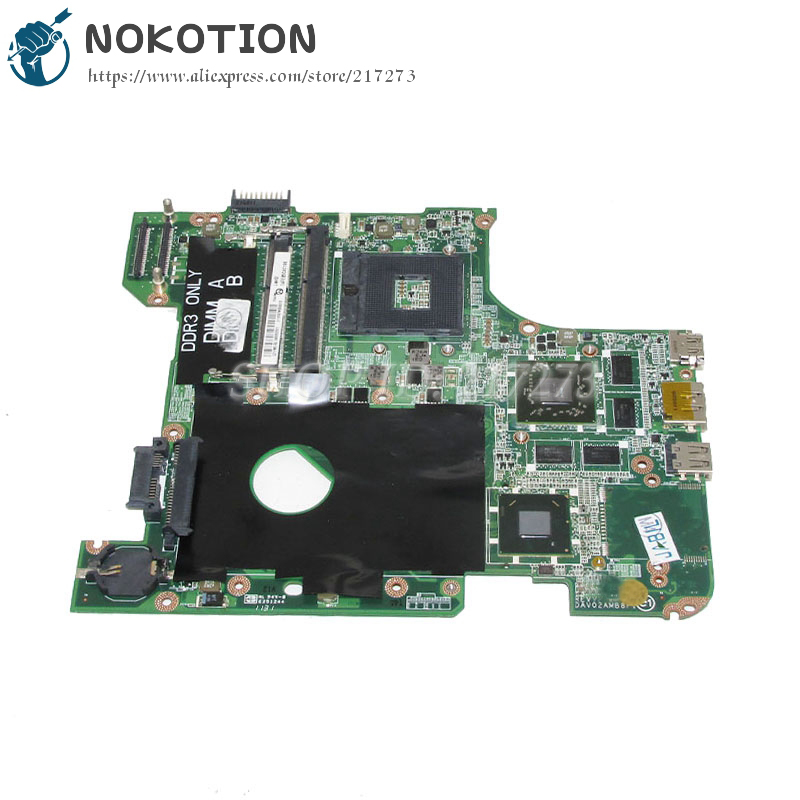 NOKOTION Mainboard for Dell inspiron 14R N4110 DAV02AMB8F1 CN-00FR3M 00FR3M Laptop Motherboard HM67 HD6630M nokotion laptop motherboard for dell inspiron n7010 mainboard ddr3 0gkh2c cn 0gkh2c gkh2c da0um9mb6d0 without graphics card