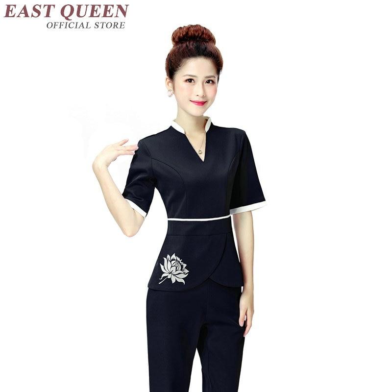 Spa thai massage uniform for beauty salon medical uniforms for Uniform thai spa