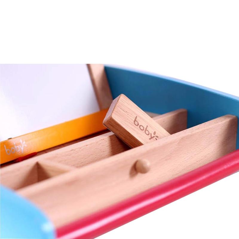 Reißbrett Zu Neue Jahr Die Magnetische Tafel mit Abacus Holzspielzeug Für Kinder Weihnachtsgeschenk für Kinder - 5