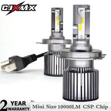CJXMX 2Pcs Mini H7 LED H1 H4 H11 HB3 9005 HB4 9006 D2S Car Headlight Bulb 10000LM 70W/Set Auto Light 12V 24V 6000K Headlamp