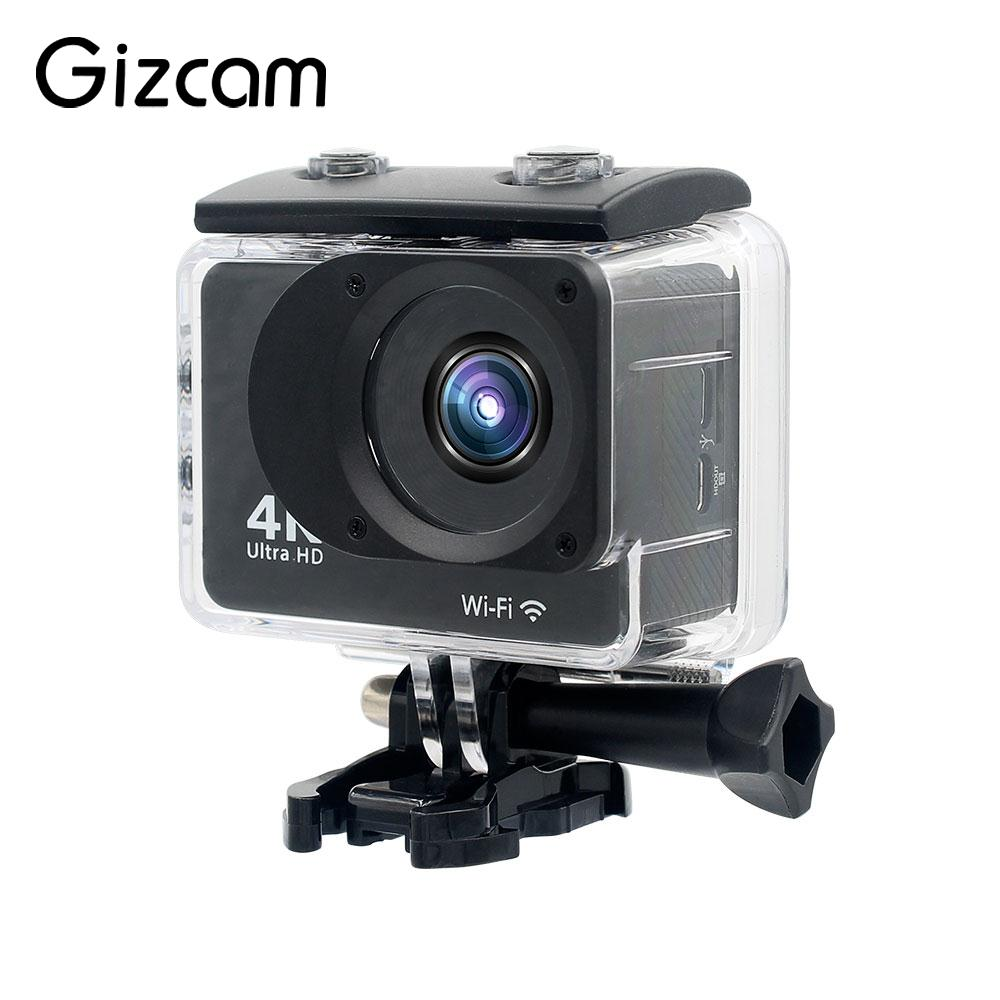 Ultra 4K Full HD 1080P Action Camera WIFI 2'' LCD Waterproof Ultra 4K Full HD 1080P Waterproof Camera 4K 30FPS Camcorder цена