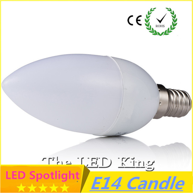 1pcs E14 Led Candle Energy Saving Lamp Light Bulb Lampada Led Ampoule Led E 14 5w 9w 220V Home Lighting Decoration Bombillas Led