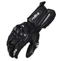 Moto Men Genuine Leather Carbon Fiber Motorcycle Gloves Street Road Glove Men Cycling Racing Guantes Moto
