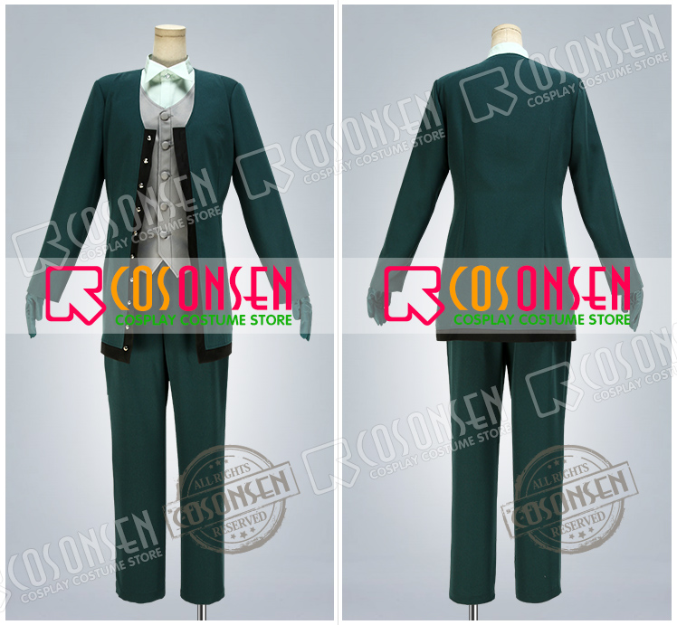 Fate Grand Order FGO Monte Cristo Edmond Dantes Avenger Cosplay Costume With Cloak COSPLAYONSEN Full Set Custom Made