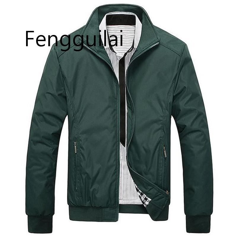 New AUTUMN  Fashion Jacket Men Loose Casual Mens Sportswear Bomber jackets And Coats