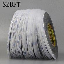 SZBFT 1 мм* 50 м супер тонкий и тонкий черный двусторонняя клейкая лента для мобильного телефона сенсорный экран/lcd/дисплей стекло