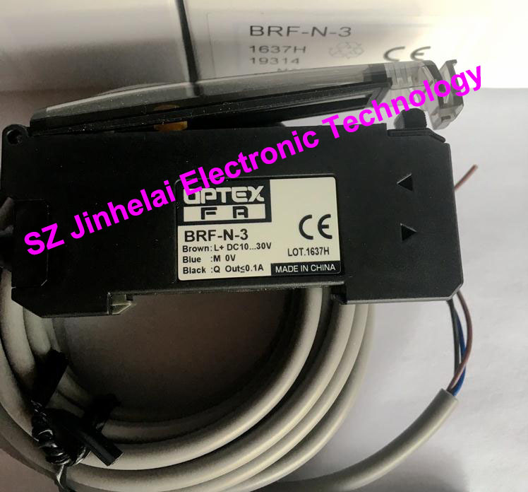 New and original BRF-N-3 OPTEX  Optical fiber amplifier  NPN OUTPUT new original fiber amplifier d10bfp
