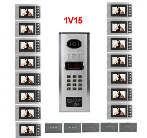 Back To Search Resultssecurity & Protection Access Control Smart Xinsilu Building Home Security Video Intercom System Video Door Phone Decoder For Home Building Video Doorbell Apartments