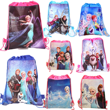 Disney Cute Frozen Princes Backpack fabric School Supplies Pencil Case Pen  Bags