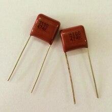 10pcs CBB capacitor 474 100V 474k 0.47uF 470nF P10 Metallized Polypropylene Film Capacitor