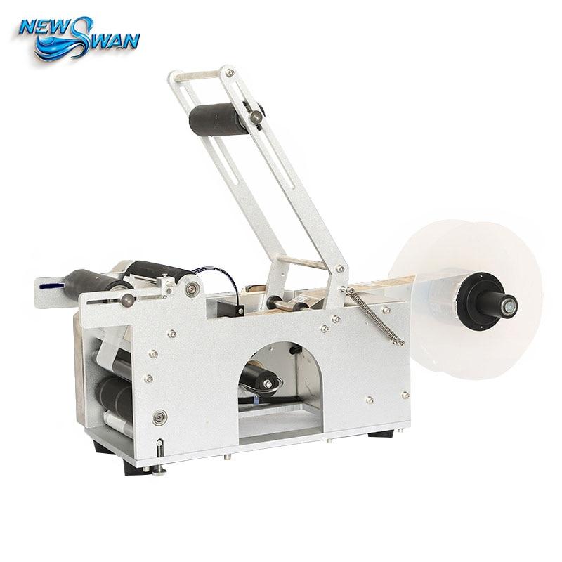 Originaalne LT-50 25 mm 150 mm kleebise printerikood Kuivamata etikettprinter poolautomaatne ümar pudelikleebiste märgistusmasin