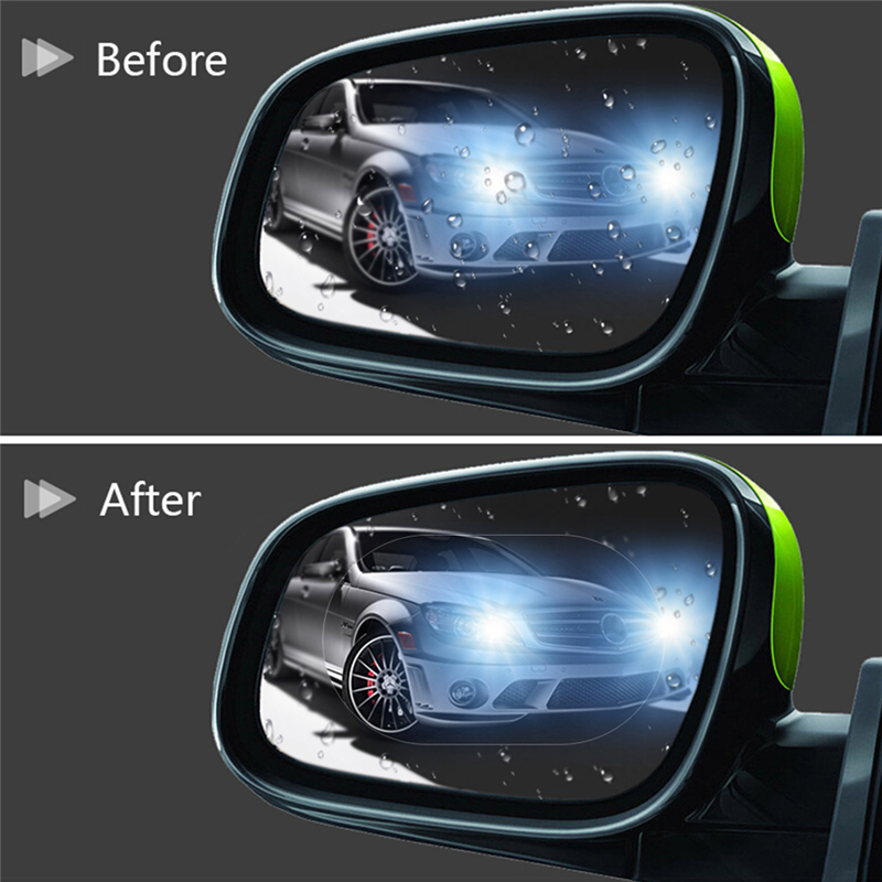 Protective-Film Car-Sticker Car-Rearview-Mirror Anti-Fog Rainproof New FX