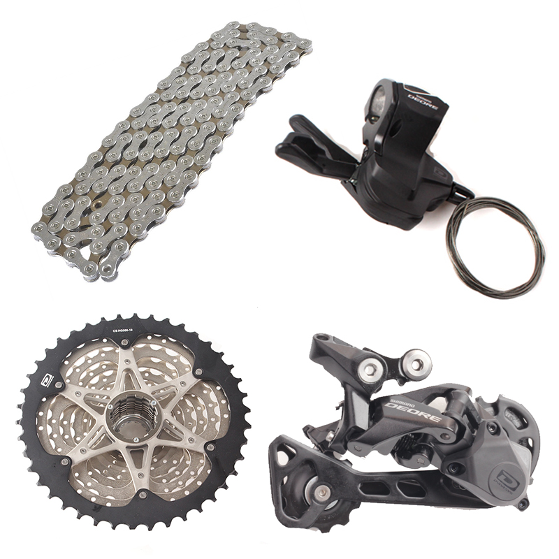 SHIMANO DEORE M6000 1x10 10S Speed 11 42T 36T Groupset Contains Shifter Lever Rear Dearilleur Cassette