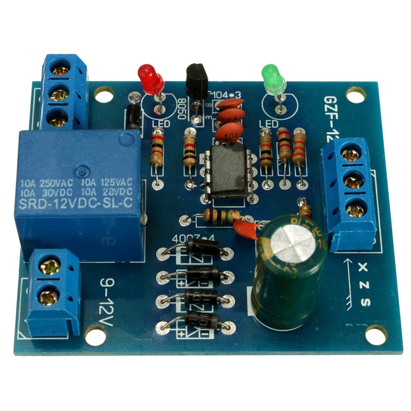 цена на 1x Electric Relay Unit High Liquid Water Level Controller Sensor Relay Module Detection 9-12V Control High Current Relay