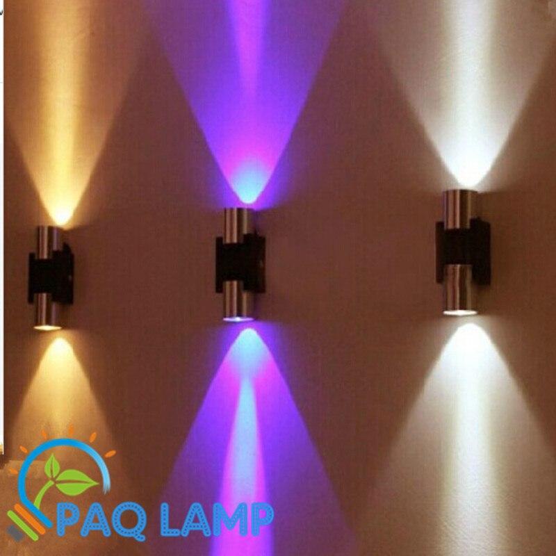 Led Corridor Lights Material Of Aluminum 6w Power Decorate Tv Wall