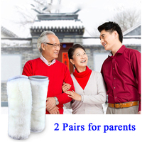 KAWO 2Pairs Knee Pads Keep Warm Knee Guard Breathable Thickening Knee Support Prevent Arthritis Reduce Joint Pain for Parents