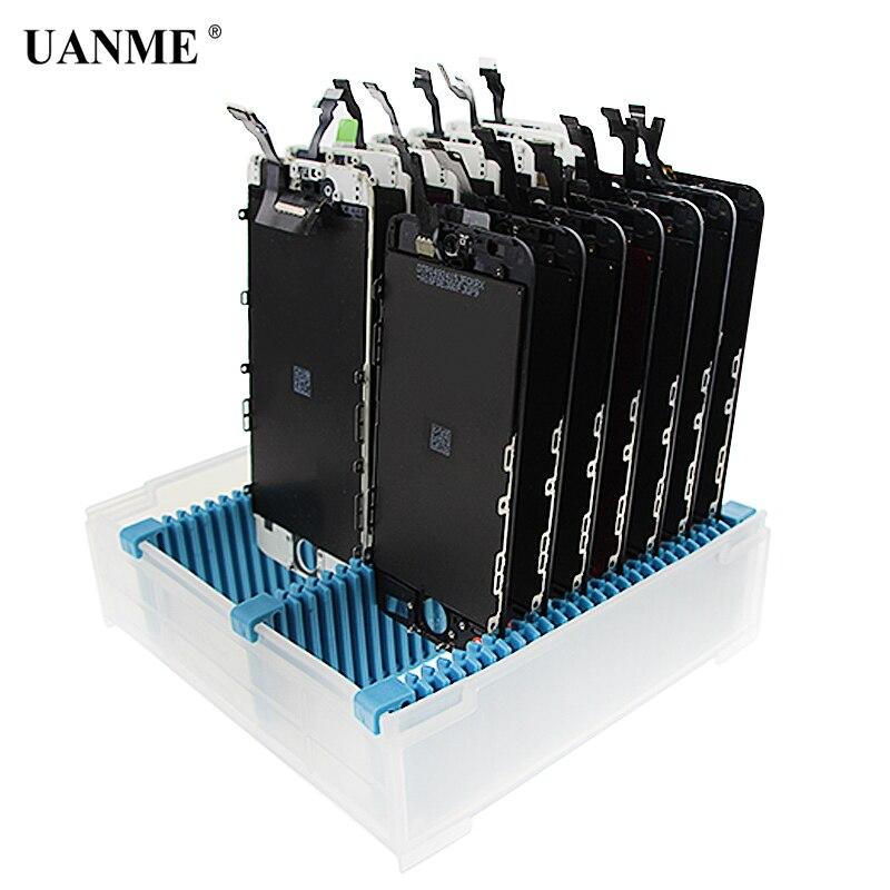Uanme Универсальный антистатические Регулируемый ЖК-дисплей экрана печатной плате Поддержка держатель лотка для iphone Samsung провести ЖК-дисплей…