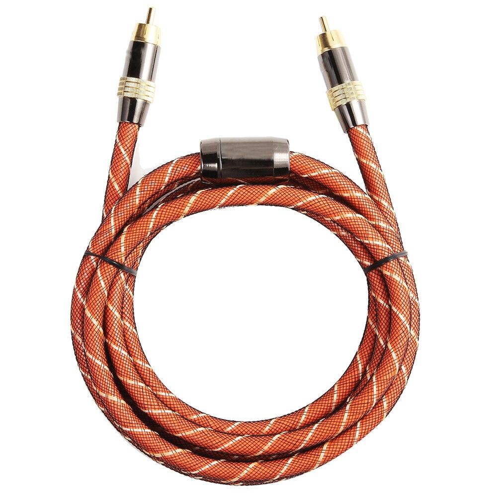 EMK TZ/A Orange Coaxial coaxial line audio Digital coaxial cables 1 m power amplifier