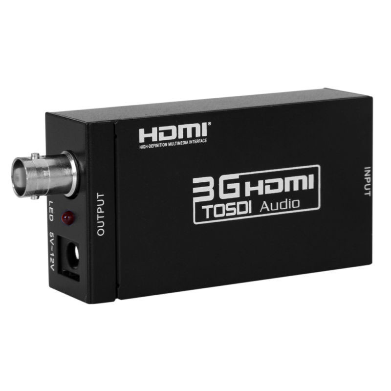 REDAMIGO Mini HD 3g HDMI VERS SDI Converter Full HD 1080 p HDMI VERS SDI Adaptateur Video Converter pour conduite HDMI HDTV S009