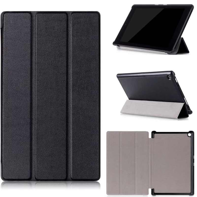 Fire HD 8 2016 case Magnet Stand Pu Leather Cases Cover for Amazon New Kindle Fire HD 8 2016 tablet shell + screen protector