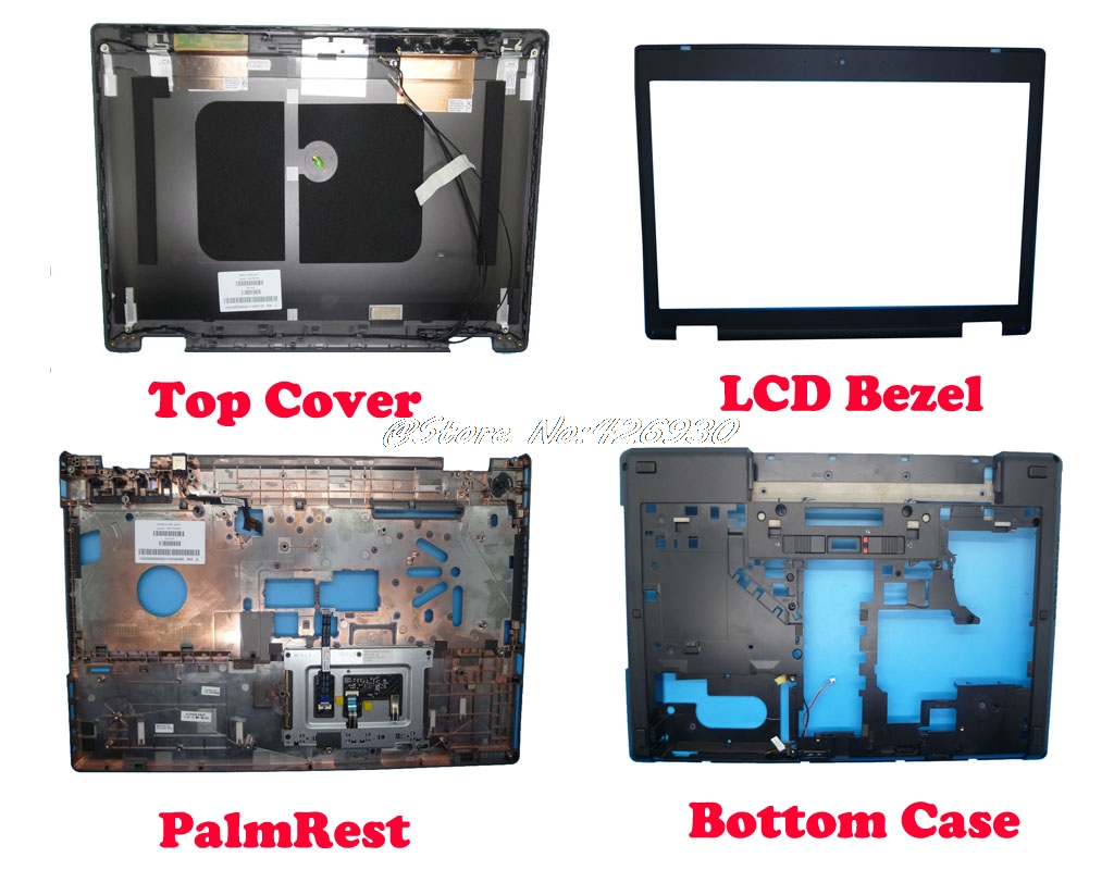 LCD Top Cover Bezel Palmrest Bottom Case For HP PROBOOK 6560B 641204 001 C61130 641202 001