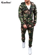 Gacloz Спортивная одежда Мужские камуфляжные спортивные костюмы Повседневная спортивная одежда Больш