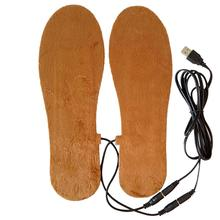 Buy HobbyLane Hot Sale USB Electric Powered Heated Insoles for Shoes Boots Keep Feet Warm Solid Women Men Unisex Insoles 2 Colors directly from merchant!