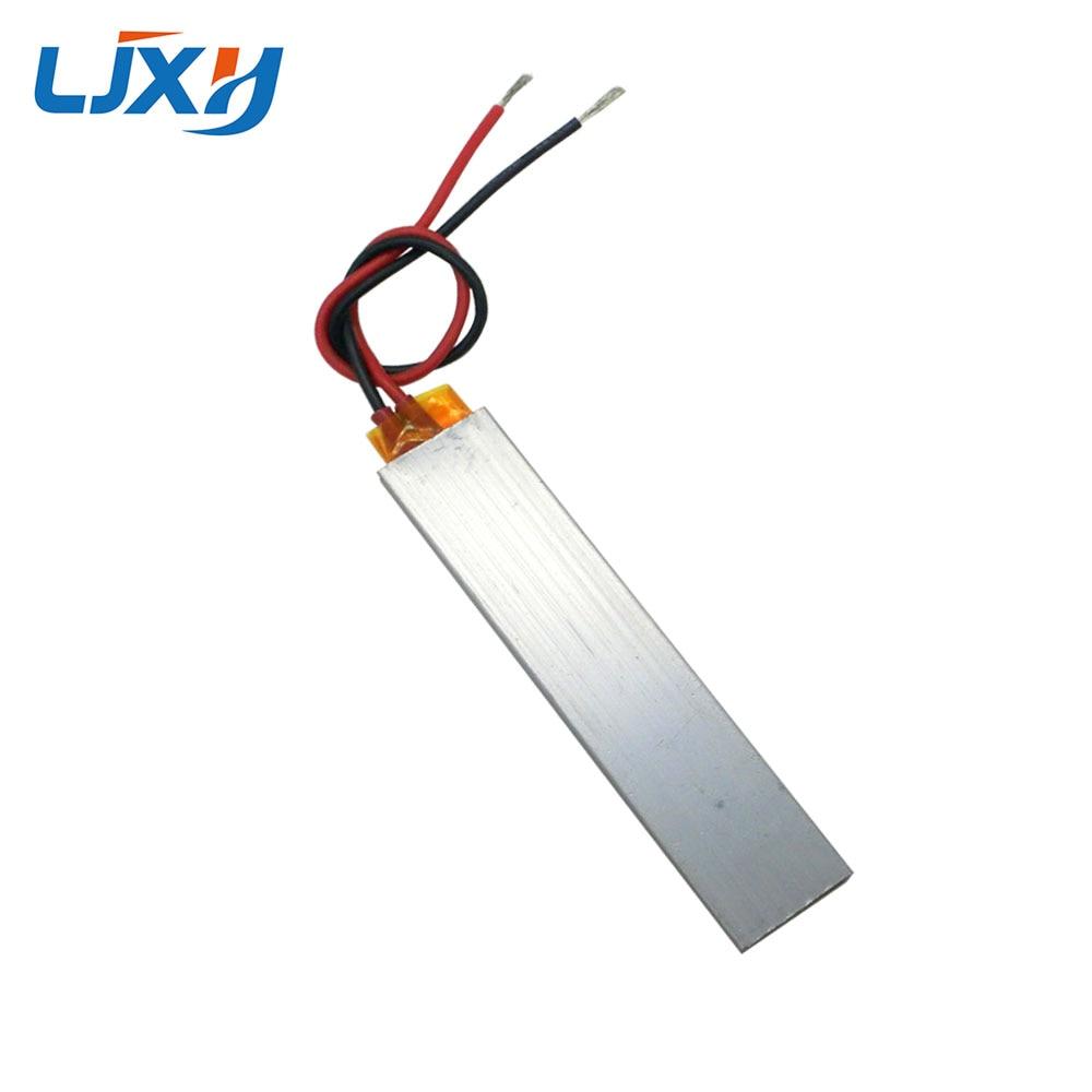 купить LJXH 2PCS AC24V/36V 60/110/220 Degrees 100x21x5mm PTC Thermostat Aluminum Heating Element Air Heater Plate Constant Temperature по цене 626.94 рублей