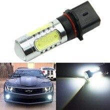 12V DC P13W COB LED High Power HID White DRL Fog Lights Bulbs For Chevrolet