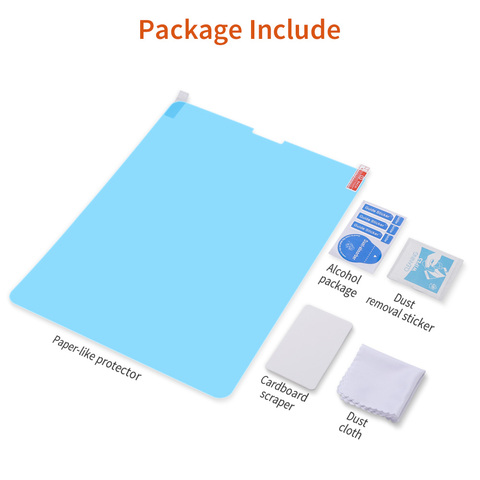 Brand New Paper-Like Anti Glare Matte PET Screen Protector for iPad 9.7 iPad Pro 10.5 inch Paper Texture Screen Protective Film Multan