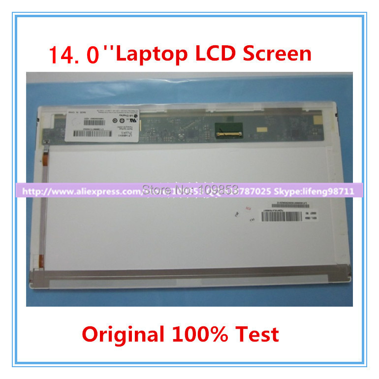N140BGE-L12 N140BGE-L22 N140BGE-L21 N140BGE-L11 BT140GW01 LP140WH1 TLA1 LTN140AT02 14.0 LCD Screen