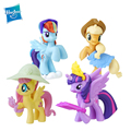 Original My Little Pony Toys Friendship is Magic Rainbow Dash Pinkie Heartstring Rarity PVC Action Figure Collectible Model Doll