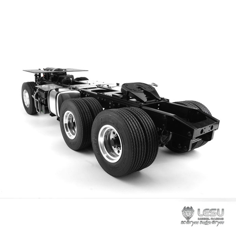1/14 camion Benz3363 1851 entraînement arrière 6X4 tracteur châssis en métal cadre couple élevé modèle LS-20130016-A RCLESU Tamiya tracteur