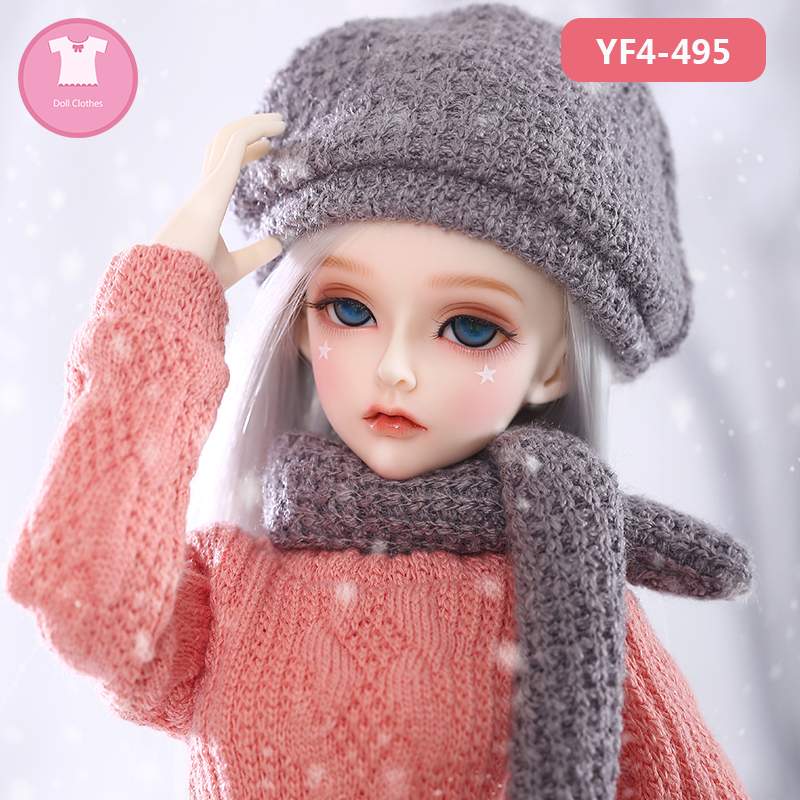 BJD Doll Clothes 1/4 Cute Dress Doll Clothes FL Fairyline For Minifee Rendia Girl Body Doll Accessories Fairyland  Luodoll